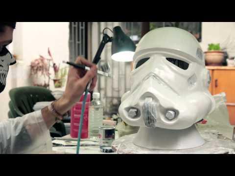Making a Stormtrooper Helmet - Timelapse