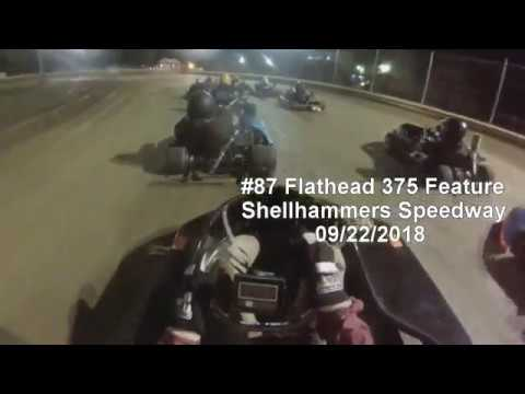 #87 Flathead 375 Feature, Shellhammers Speedway 09/22/2018