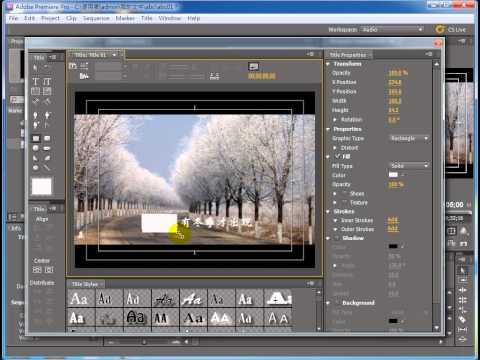 adobe premiere pro tutorial pdf