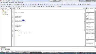 CodevisionAVR урок - первая программа
