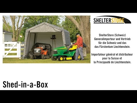 ShelterLogic™ - Shed-in-a-box™ | ShelterStore