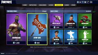 When Your The First To See The BanDolier skin in Fortnite