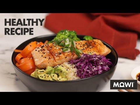MOWI Salmon Rice Bowl