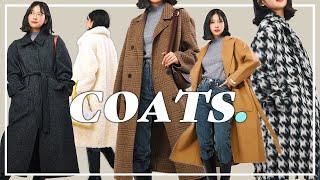 Sub) 코트 패션하울  가격대별 고-퀄리티 겨울 아우…