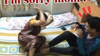 Crazy Condom Prank On Indian Mom