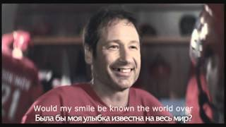 """Funny David Duchovny Russian commercial """"You have many things to be proud of!"""" (English translation)"""