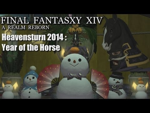 Final Fantasy XIV: Heavensturn 2014 - The Year of the Horse