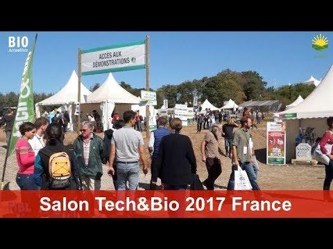 Le salon Tech et Bio 2017 à Valence France  - Projet PLAID: Activités de démonstrations en Europe