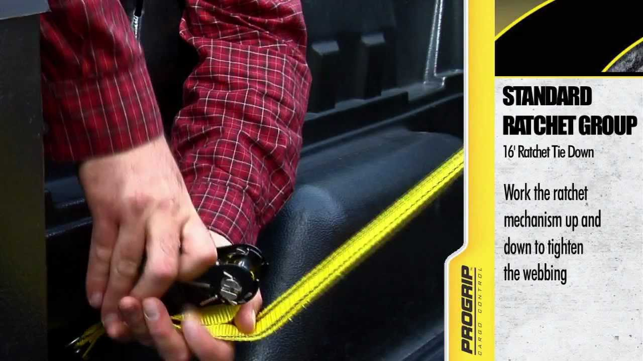 How To Use A Ratchet Tie Down Youtube