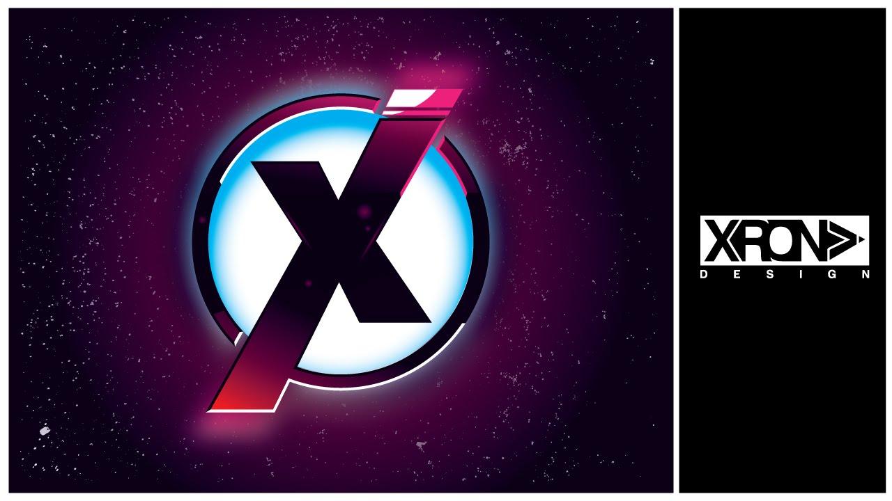 logo design the x vector logo in adobe illustrator youtube