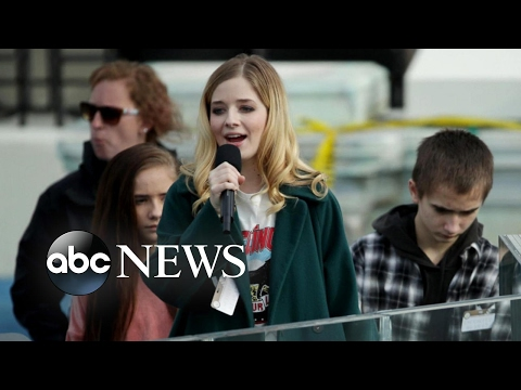 Jackie Evancho Preps for Inauguration, Transgender Sister Preps for Gender Confirmation Surgery