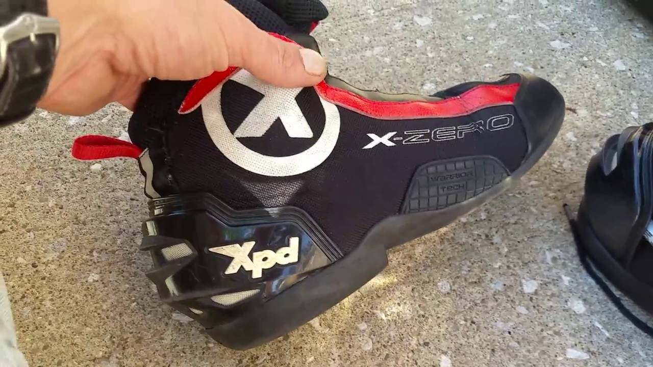 913e77e1a26c50 Spidi XPD Design Flaw Motorcycle Boot   Shoe Review - YouTube