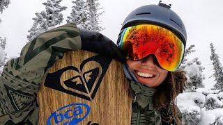 Проверил VIP СНОУБОРДИСТКУ в лесу - SеХу видео. ШЕРЕГЕШ, ФРИРАЙД рай для сноубордистов.