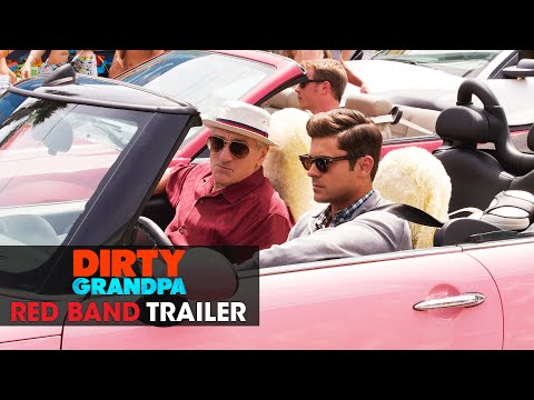Dirty Grandpa trailers