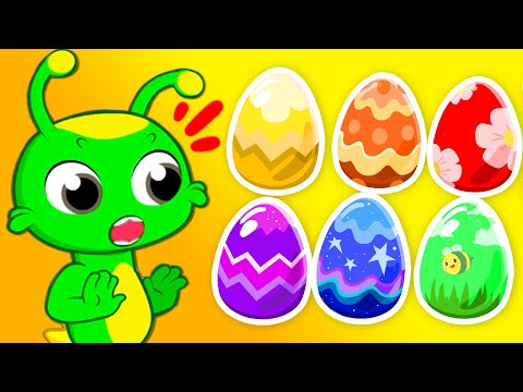 groovy-the-martian-for-kids-|-learn-the-colors-with-this-huge-easter-egg-hunt-with-surprise-toys!