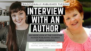 Author Interview ft. Mesu Andrews || Traditionally Published Tuesdays || Jenna Van Mourik