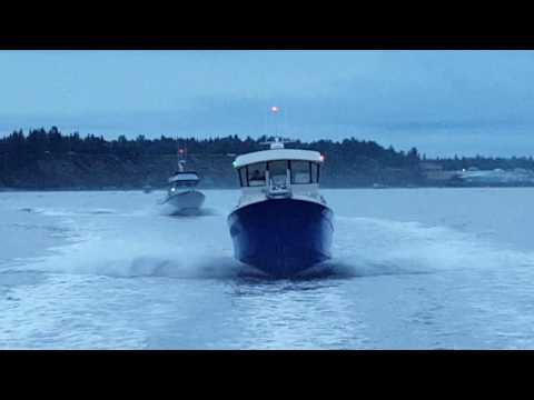 Cook Inlet, Alaska salmon fishing 2016