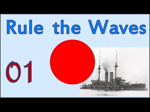 Rule the Waves | Let's Play Japan - 01 - Legacy Fleet