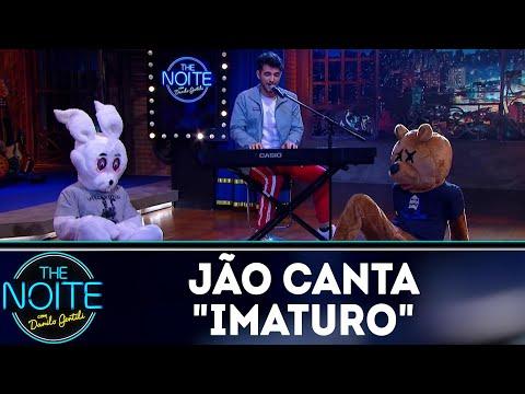 Jão canta Imaturo | The Noite (18/05/18)