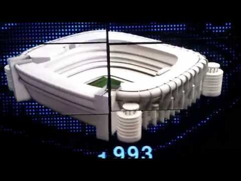 "The Evolution of Santiago Bernabéu "" Real Madrid "" Stadium"
