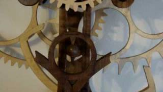 #6 Wooden Gear Clock