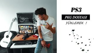 PS3 PKG DOSYASI YÜKLEME