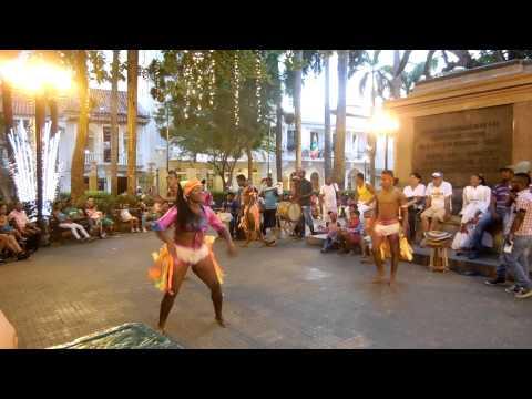 Caribbean Dancers in Cartagena (San Diego Square)