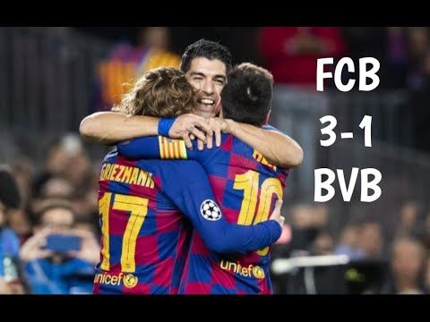 FCB  Vs BVB , 3-1 All Goals & Extended Highlights, 2019.