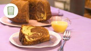 Marmorkuchen mit Nussnougatcreme und Eierlikör | Chefkoch