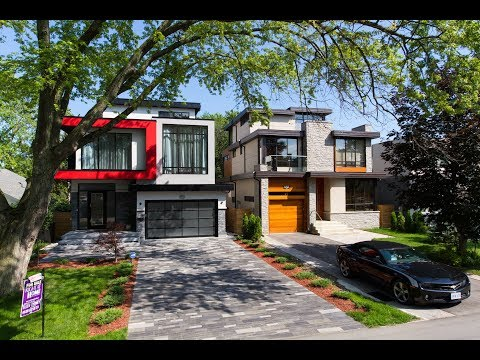 New Modern House for Sale In Toronto / Mississauga, 662 Byngmount Ave | © W4Y Video Productions