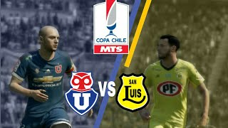 U de chile vs San Luis | FIFA 18 Game play