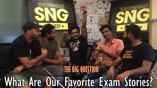 SnG: What are are favourite exam stories Feat. Kenny | The Big Question Ep 44 | Video Podcast