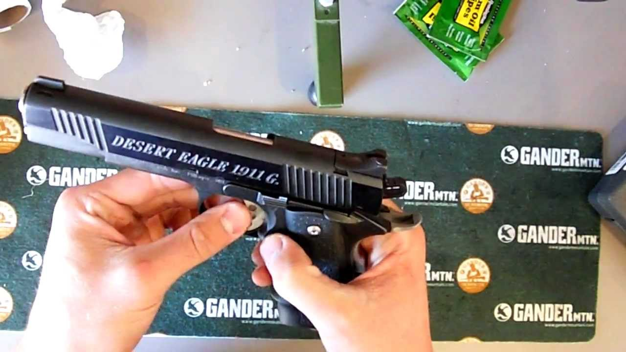 Magnum Research Desert Eagle 1911 Basic Field Strip Youtube