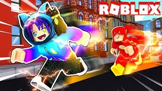 Ich wurde FASTER Than The Flash! In Roblox Legends of SPEED