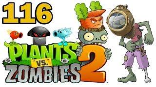 ч.116 Plants vs. Zombies 2 - Dark Ages - Day 3