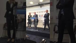 Conférence de presse de Damien Abad - Mardi 12 novembre 2019
