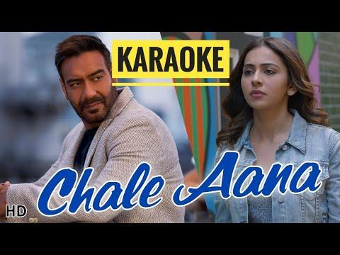 Chale Aana (De De Pyar De) - KARAOKE With Lyrics || Armaan Mallik || BasserMusic