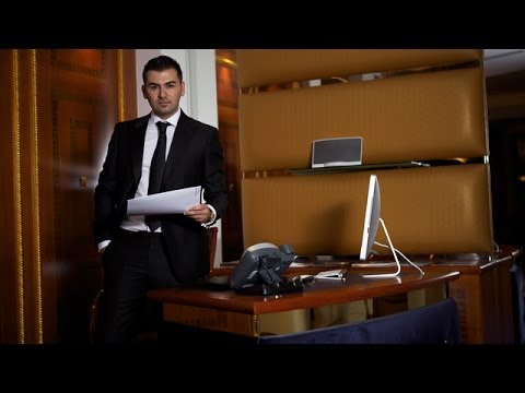 Saygin Yalcin at Middle East Investment Conference 2014, CFA Institute