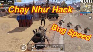 PUBG Mobile | Hướng Dẫn Bug Speed - Chạy Max Nhanh √