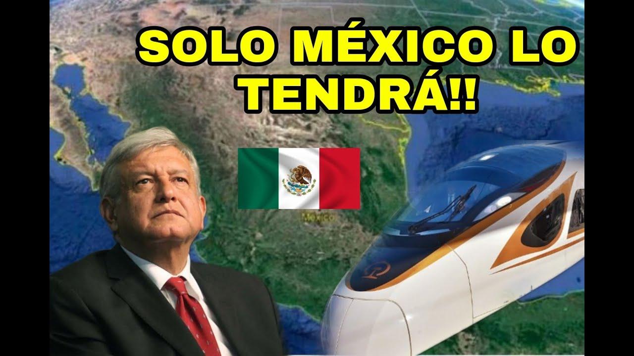 TODO EL MUNDO DICE QUE MEXICO SERA LA PROXIMA POTENCIA MUNDIAL CON PODEROSO PROYECTOS FERROVIARIOS!!
