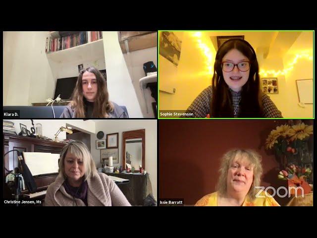#NationalYouthJazz Wednesday: Issie Barratt in conversation with Christine Jensen