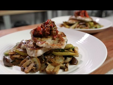 Pork Chop Dinner For Two - Paleo Cooking With Nick Massie