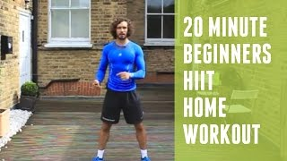 HIIT Home Workout for beginners