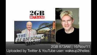 Bjorn Lomborg on the Alan Jones show 16/Nov/2011