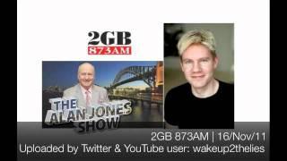 Bjorn Lomborg on the Alan Jones show 16/Nov/2011
