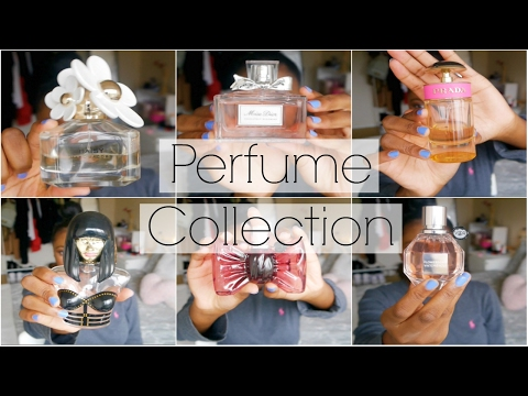 HUGE PERFUME COLLECTION | DIOR, VIKTOR & ROLF, MARC JACOBS & MORE 2017