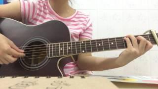 Tôi thấy hoa vàng trên cỏ xanh (Ái Phương) - Guitar cover by Khải Hoàn (short version)