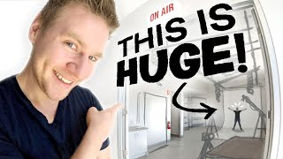 The NEW STUDIO is FINISHED!!! - This blew my mind...