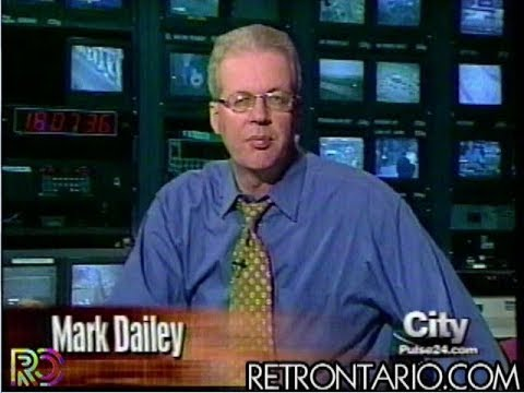 Citytv CityPulse Monday April 30, 2001 Full episode with original commercials