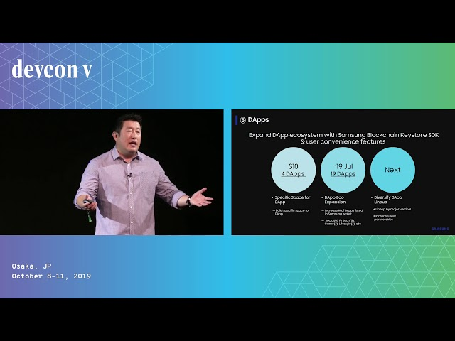 Welcome to the Samsung Blockchain Galaxy by Wook Lim & Minji Chae (Devcon5)